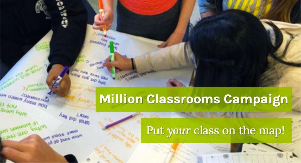 Million Classrooms Campaign